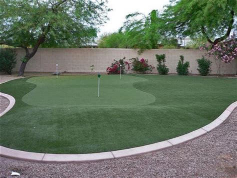 golf backyard back yard mini golf pictures to pin on pinterest pinsdaddy