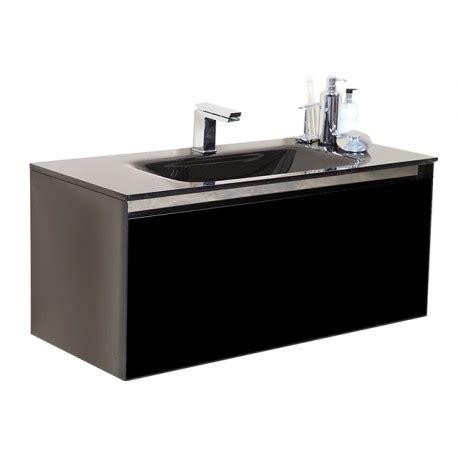Black Gloss Bathroom Furniture Black Gloss Drawer Unit Stonewood