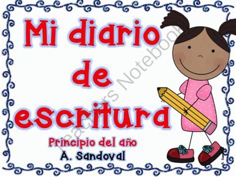 basic pattern in spanish beginning of the year writing journal spanish from