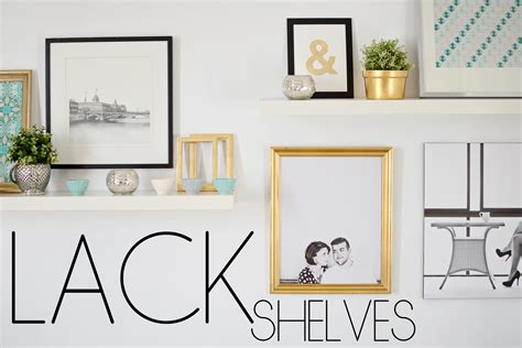 Hanging Shelves Without Studs Ikea Lack Shelves And A Wall With No Studs The Vintage