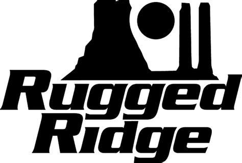 rugged ridge logo rugged ridge decal sticker 04
