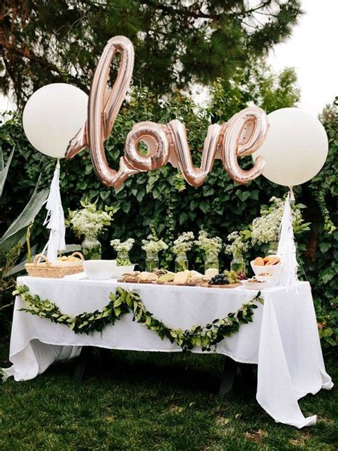 engagement party decoration ideas home best 25 anniversary party decorations ideas on pinterest