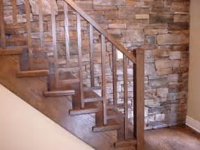 Handrail Kits For Stairs by Wood Stair Railing Ideas Home Design