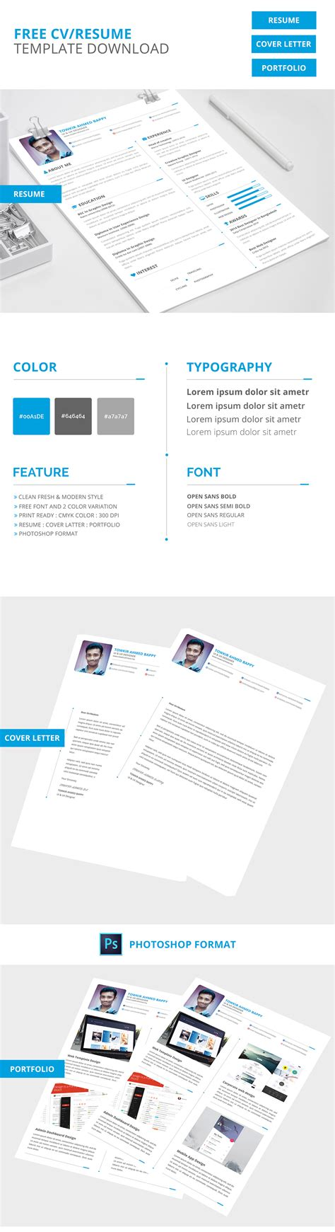 Resume Template Creative Free free creative resume template