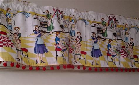 Vintage Kitchen Curtains Vintage Kitchen Curtains Style All Home Decorations