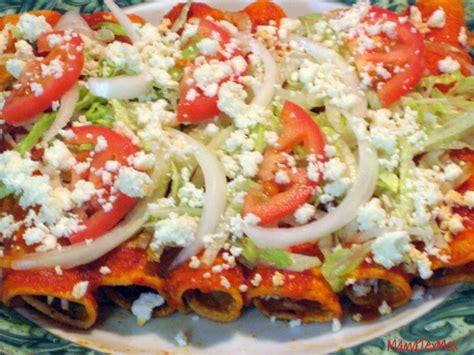 imagenes enchiladas rojas receta enchiladas rojas de pollo how to make chicken