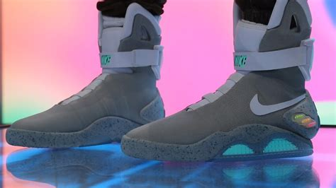Nike Back To The Future 2016 nike mag self lacing back to the future shoes detailed look