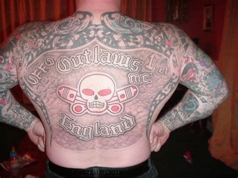 mc tattoos outlaw ink ink motorcycle clubs