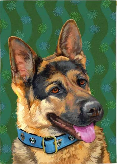 german shepherd house german shepherd house flag