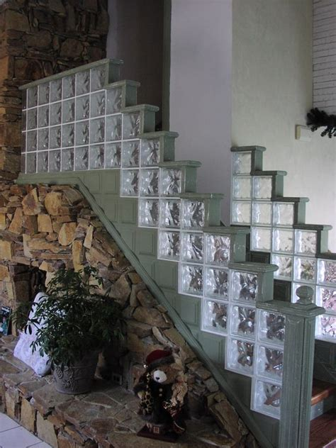 interior glass block desain rumah