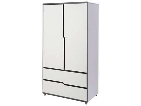 armoire 2 portes 2 tiroirs moby vente de armoire enfant