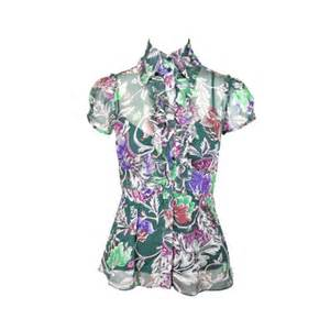 Blouse Jummbo Lq second diane furstenberg printed blouse with slip the fifth collection