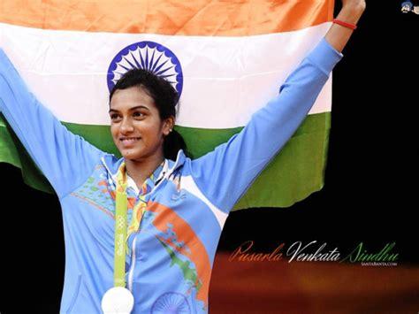 pusarla venkata sindhu rio olympic medal winner  pic