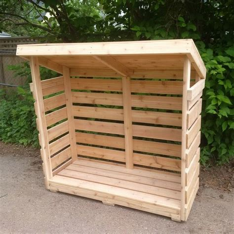 firewood shelter treated  cedar custom sizes
