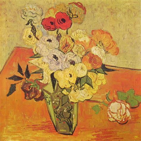 gogh fiori vaso con di vincent gogh