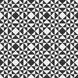 terrades modernist black white tile