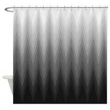 Of grey shower curtains shades of grey fabric shower curtain liner