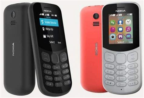 Nokia 130 Dual Sim Candybar hape nokia 105 dual sim dan nokia 130 versi 2017
