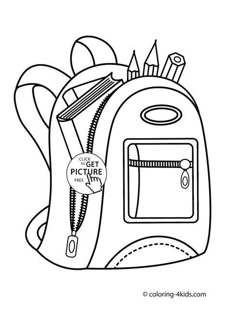 coloring supplies school supplies coloring page 2670707