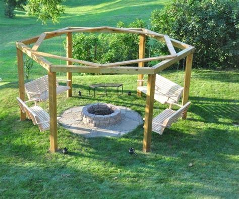 octagon fire pit swing octagon fire pit swing fire pit ideas