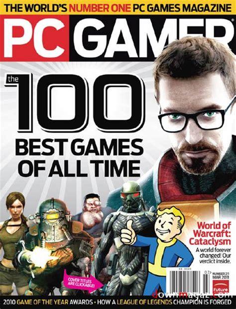 Gameplayer Magazine De pc gamer march 2011 187 pdf magazines magazines commumity