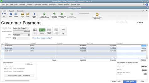 quickbooks tutorial receiving payments apply one payment to multiple invoices in quickbooks