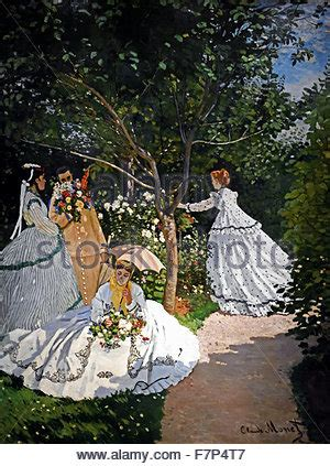 claude monet donne in giardino le donne in giardino claude monet 1866 musee d orsay