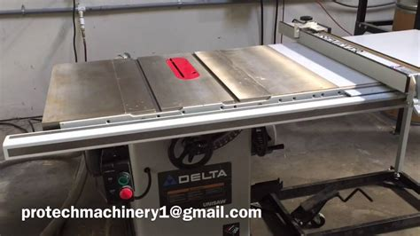 delta industrial table saw 5 hp industrial delta table saw