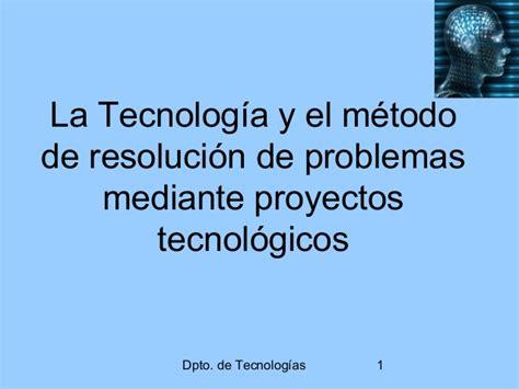 tecnologa i eso 8430789979 el m 233 todo de proyectos en tecnolog 237 a 3 186 eso