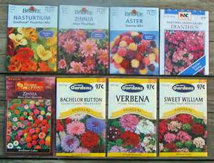 Flower Garden Seeds Butterfly Flower Seed Packets Twilight Insight
