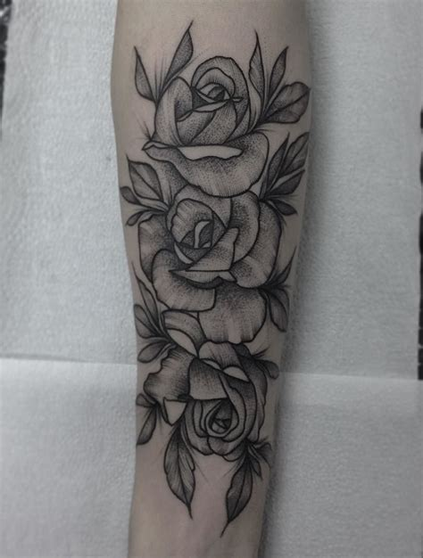 flower forearm tattoos done today yeahtattoos