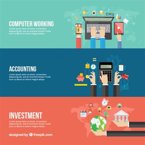 templates business banner accounting vectors photos and psd files free download