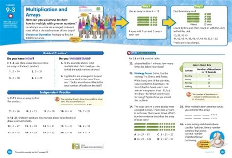 Envision Math 3rd Grade Worksheets by Fall2010specializedreadingmathprograms Envision Math