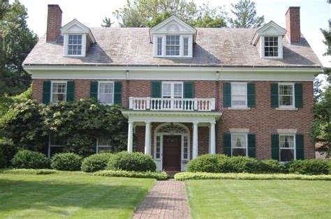 architects anonymous dutch colonial style home georgian colonial revival houses are a symmetrical beauty