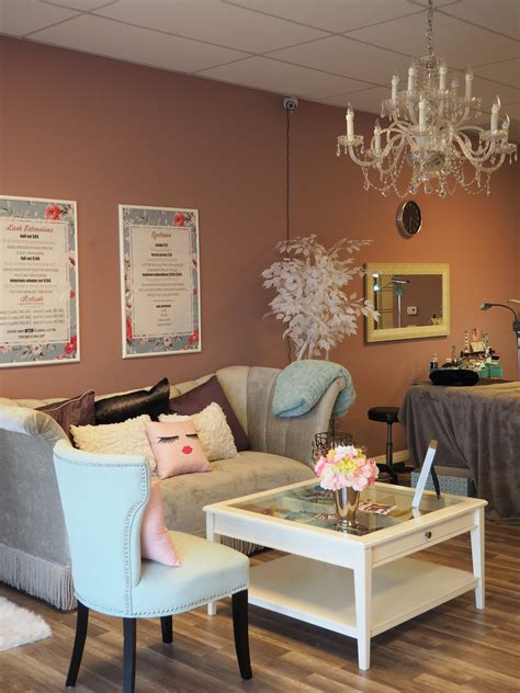 The Lash Room by Thoughts On Eyelash Extensions Meet The Barre
