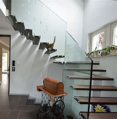 unique stairs floating staircase ideas alan and heather davis