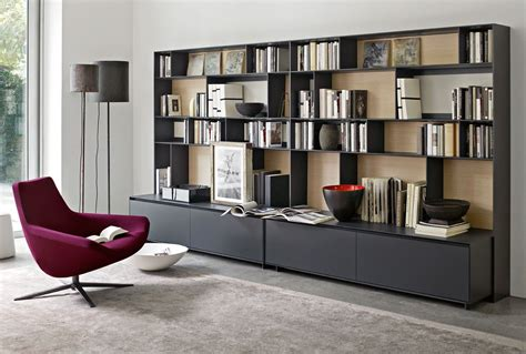 system bookcase flat c collection b b italia design