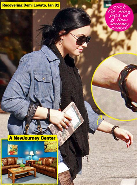 demi lovato out of rehab amp headed to eating disorder