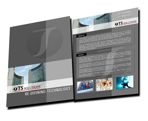 corporate brochure design templates company brochure design sle by sandhuharjeetsingh on