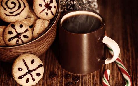 Coffee Christmas Wallpaper | cookies holiday mug coffee christmas wallpaper 1680x1050