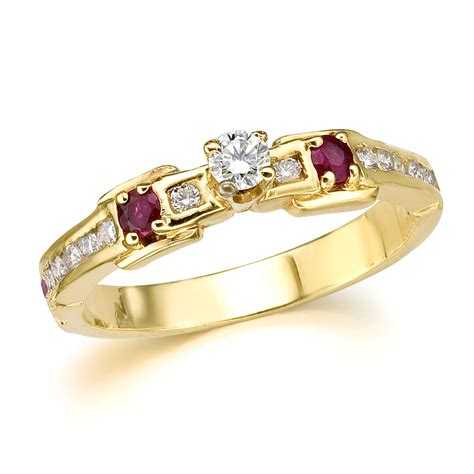 ruby ring ruby rings yellow gold