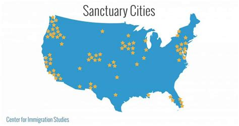 united states map of sanctuary cities the spectator uw chancellor cus cannot be
