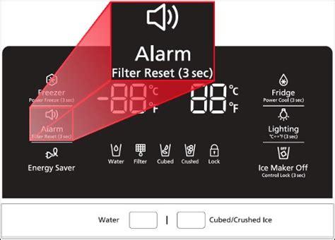 samsung refrigerator light stays on reset samsung fridge filters water filter for fridge