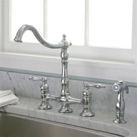 kitchen faucet deals charelstown bridge style 2 handle chrome kitchen faucet