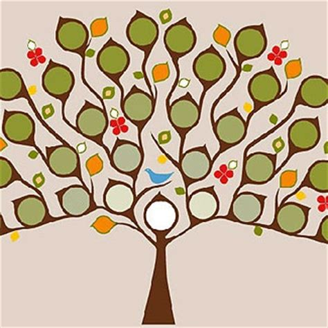 family tree template family tree template decorative