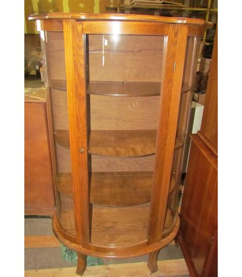 curio cabinets with glass doors antique cherry wooden curio cabinet with glass doors and