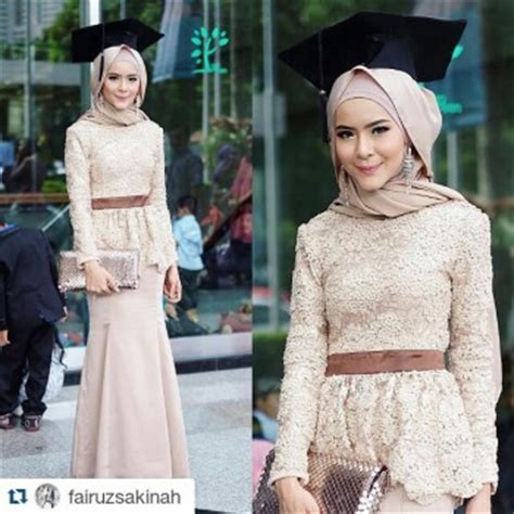 Model Kebaya Wisuda Kebaya Modern Baju Wisuda Kebaya Wisuda 21 model kebaya muslim untuk wisuda terbaru remaja update remaja update