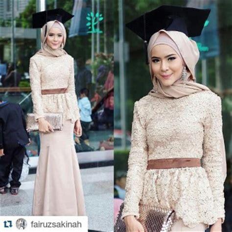 21 Model Kebaya Muslim Untuk Wisuda Terbaru   Remaja