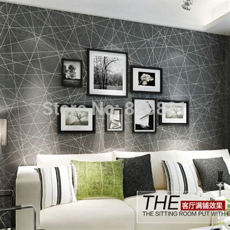 Wallpaper Bedroom Geometric Abstract Wallpaper 3d Modern For Living Room Bedroom Home