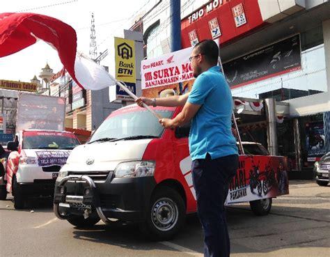Pcx 2018 Banjarmasin by Parade Honda Delivery Car Meriahkan Jalanan Kota